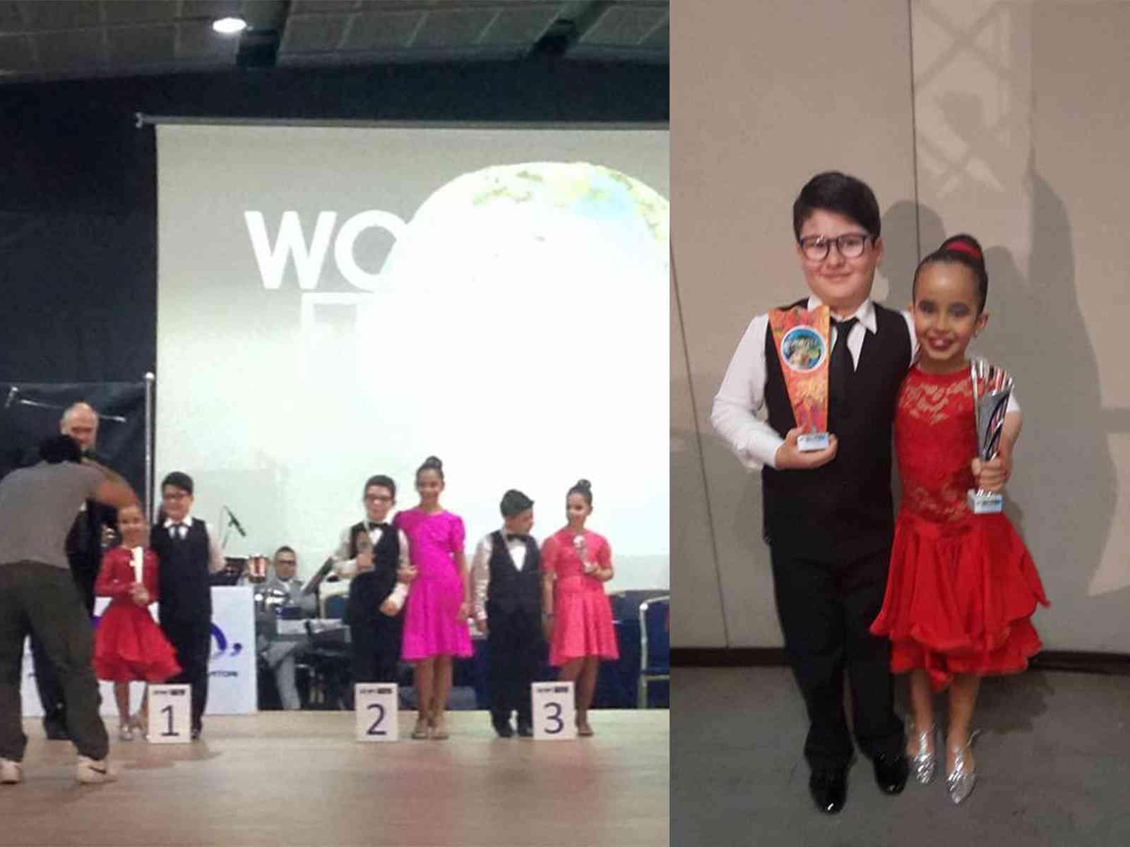 Menfi. Ballo. I giovanissimi Buscemi e Balistreri vincono al World Dance Festival 2016