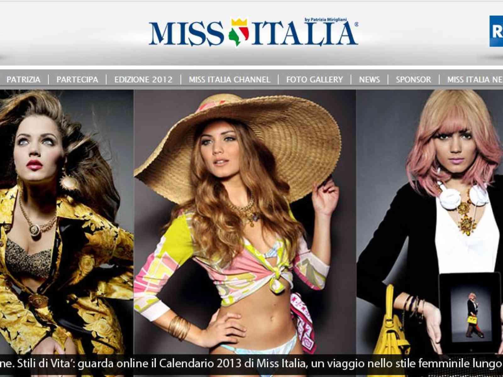 Giusy Buscemi Calendario.Giusy Buscemi Protagonista Del Calendario 2013 Di Miss