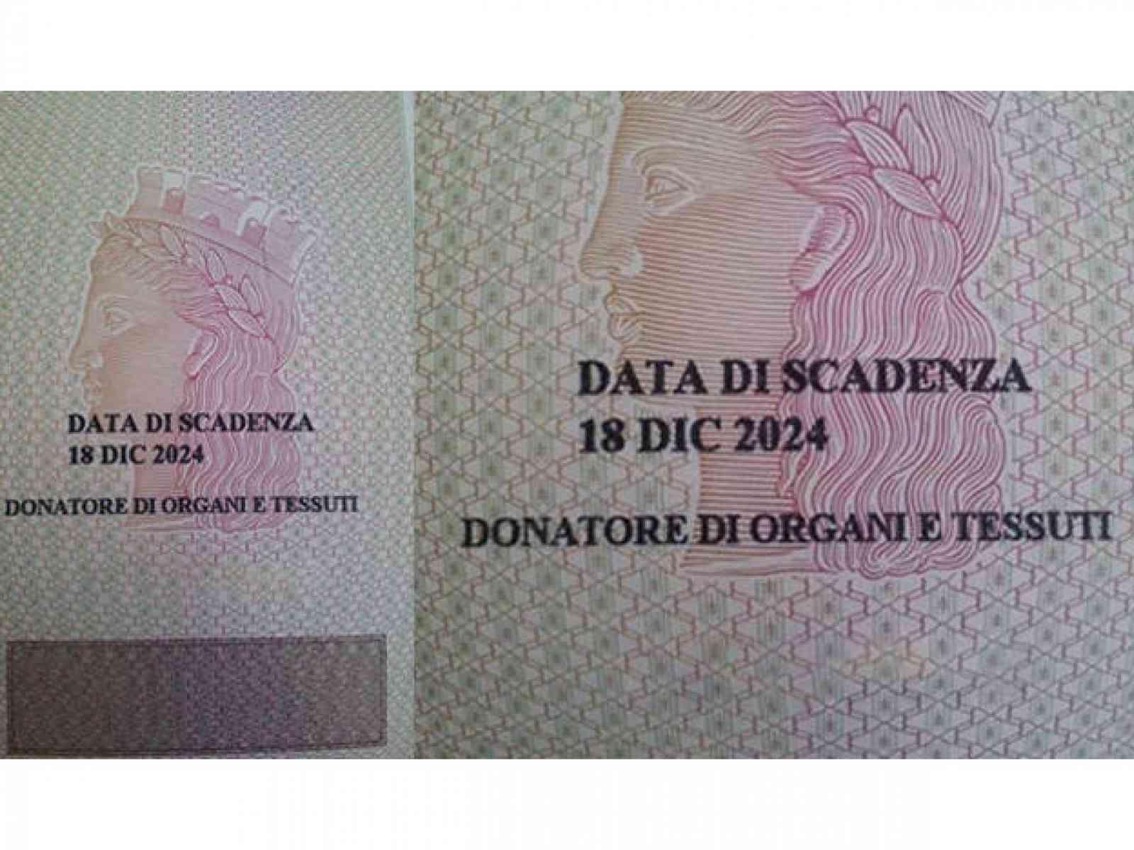 Menfi. Donatore di organi su carta d'identità: adesso si può