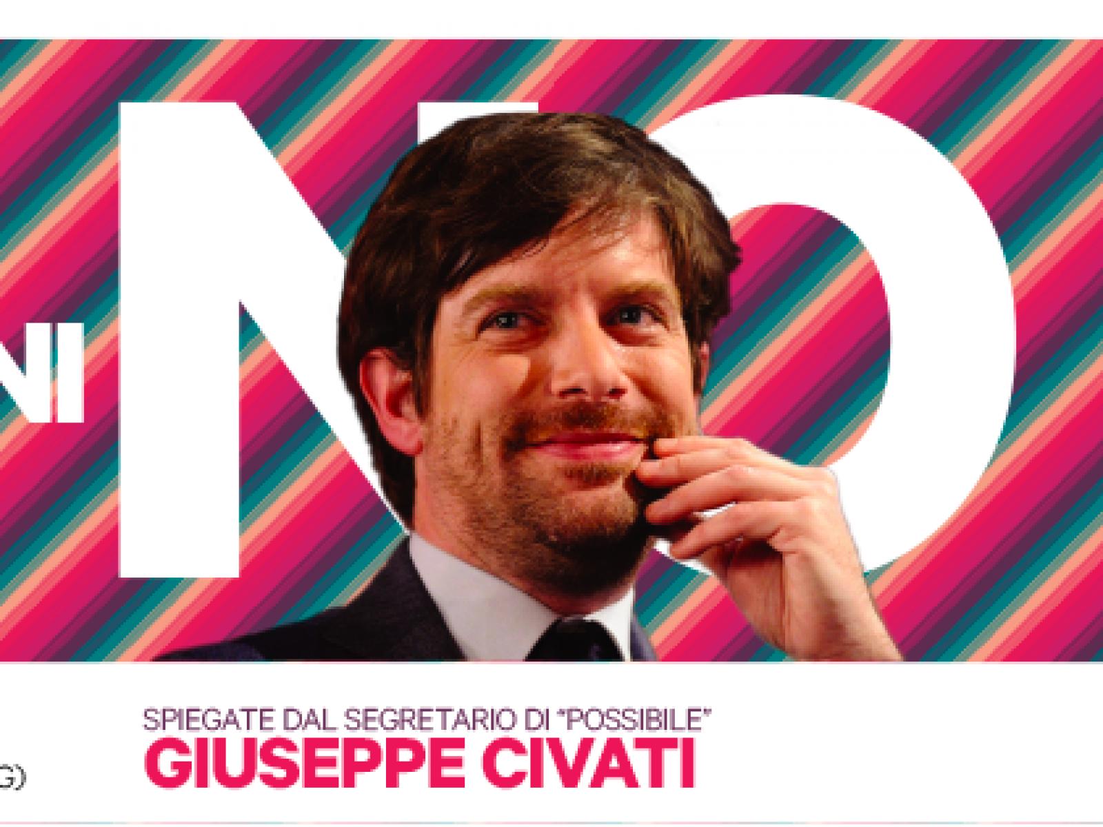 Referendum, a Sciacca Civati: le ragioni del NO alla multisala badia grande