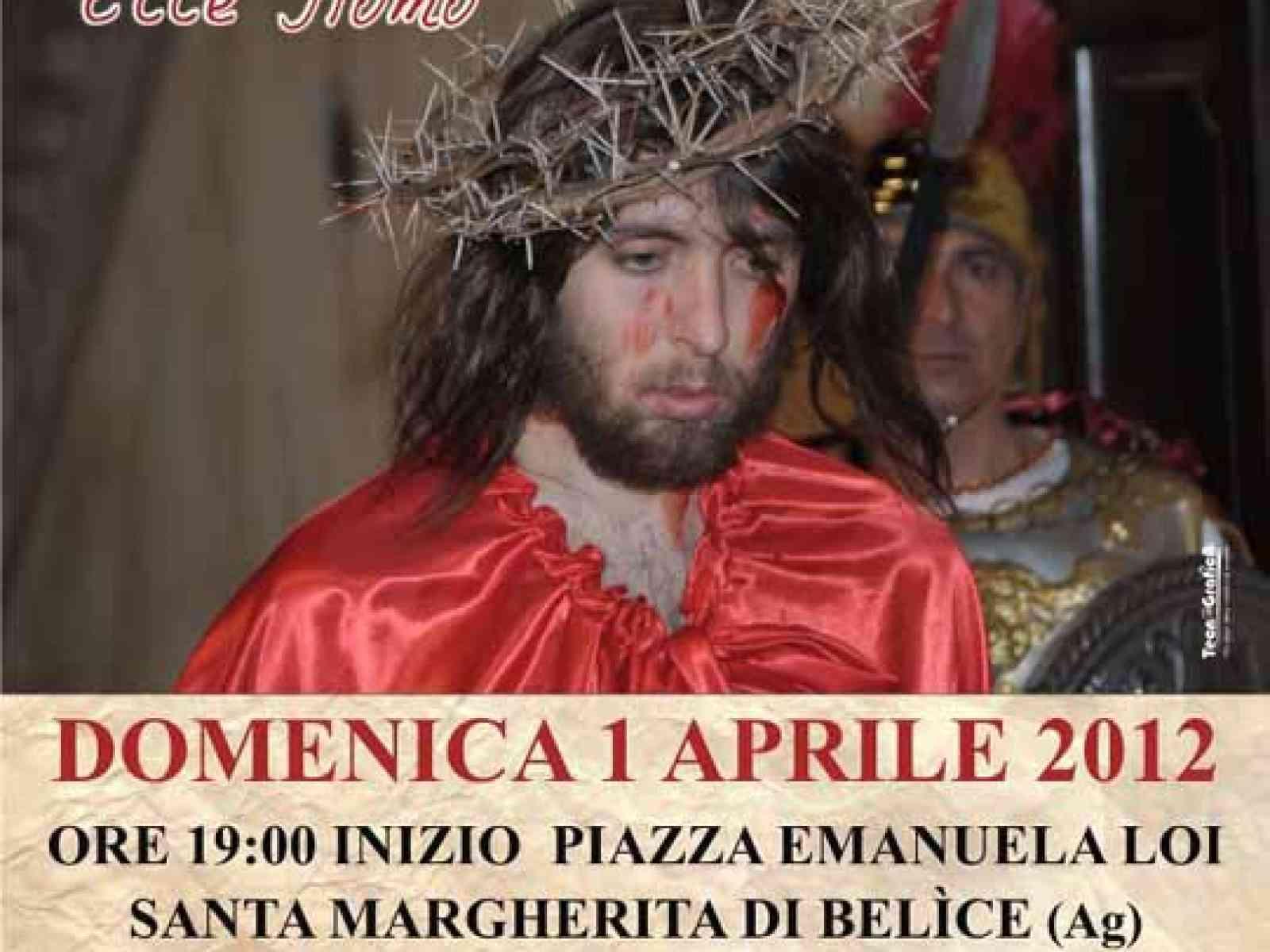"""Santa Margherita. Il 29 marzo ritorna la """"Drammatizzazione vivente della Passione di Cristo"""""""