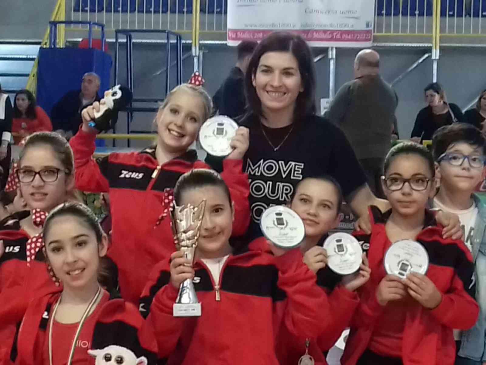 Poggioreale. Podi e medaglie per alcune giovanissime nella III fase dei campionati regionali di twirling free style
