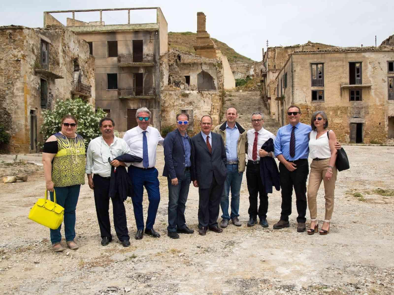 Una delegazione della Commissione Ambiente del Senato in visita nel Belìce