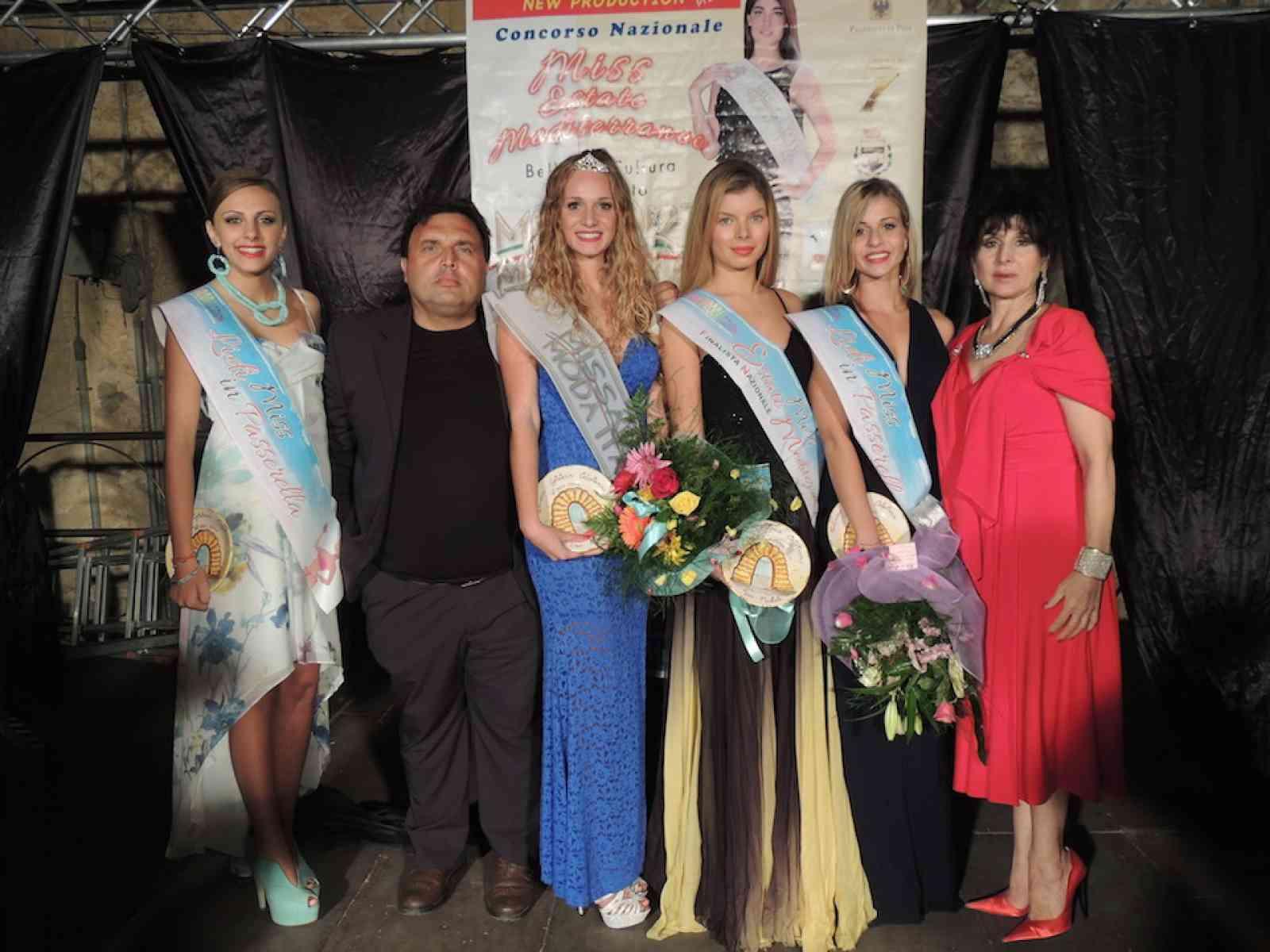 La menfitana Verdiana Cicio vince le selezioni interprovinciali di Miss Arte Moda Italia
