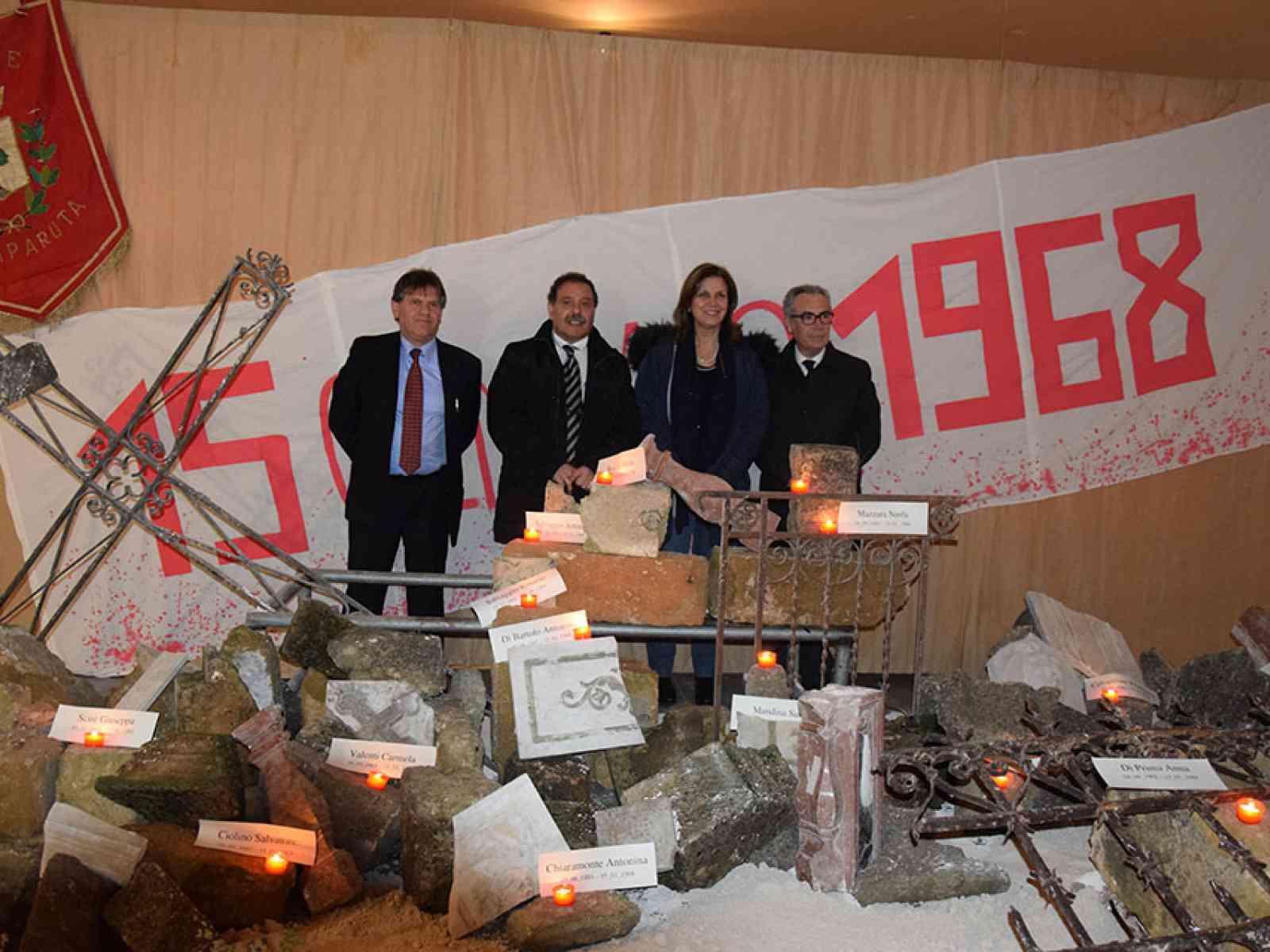 """""""Salaparuta, i salitani, il territorio"""", inaugurata una mostra dedicata al terremoto del '68"""