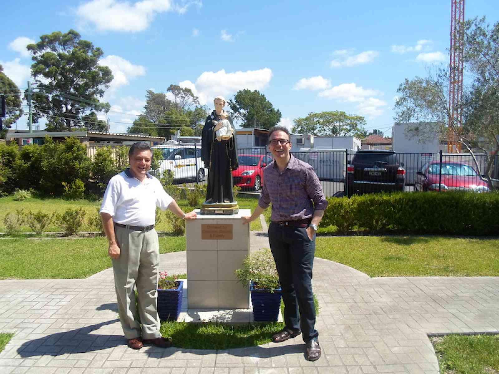 Il parroco di Poggioreale in Australia per i festeggiamenti in onore di S.Antonio da Padova