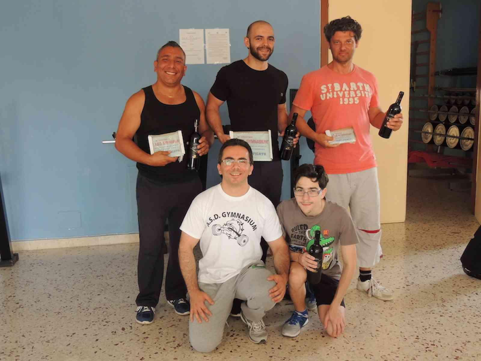 """Poggioreale. Concluso il 2° Trofeo """"A.S.D. Gymnasium"""" di distensione su panca maschile e femminile"""