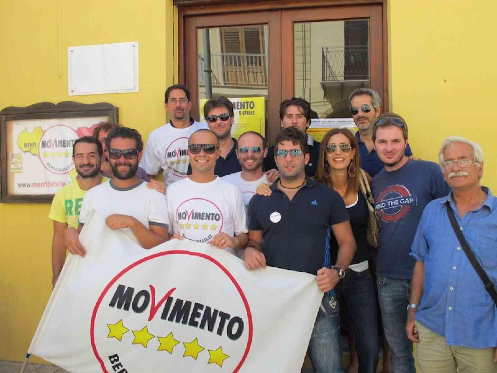 Inizia la Campagna elettorale del Movimento 5 stelle Menfi. Aperta la sede