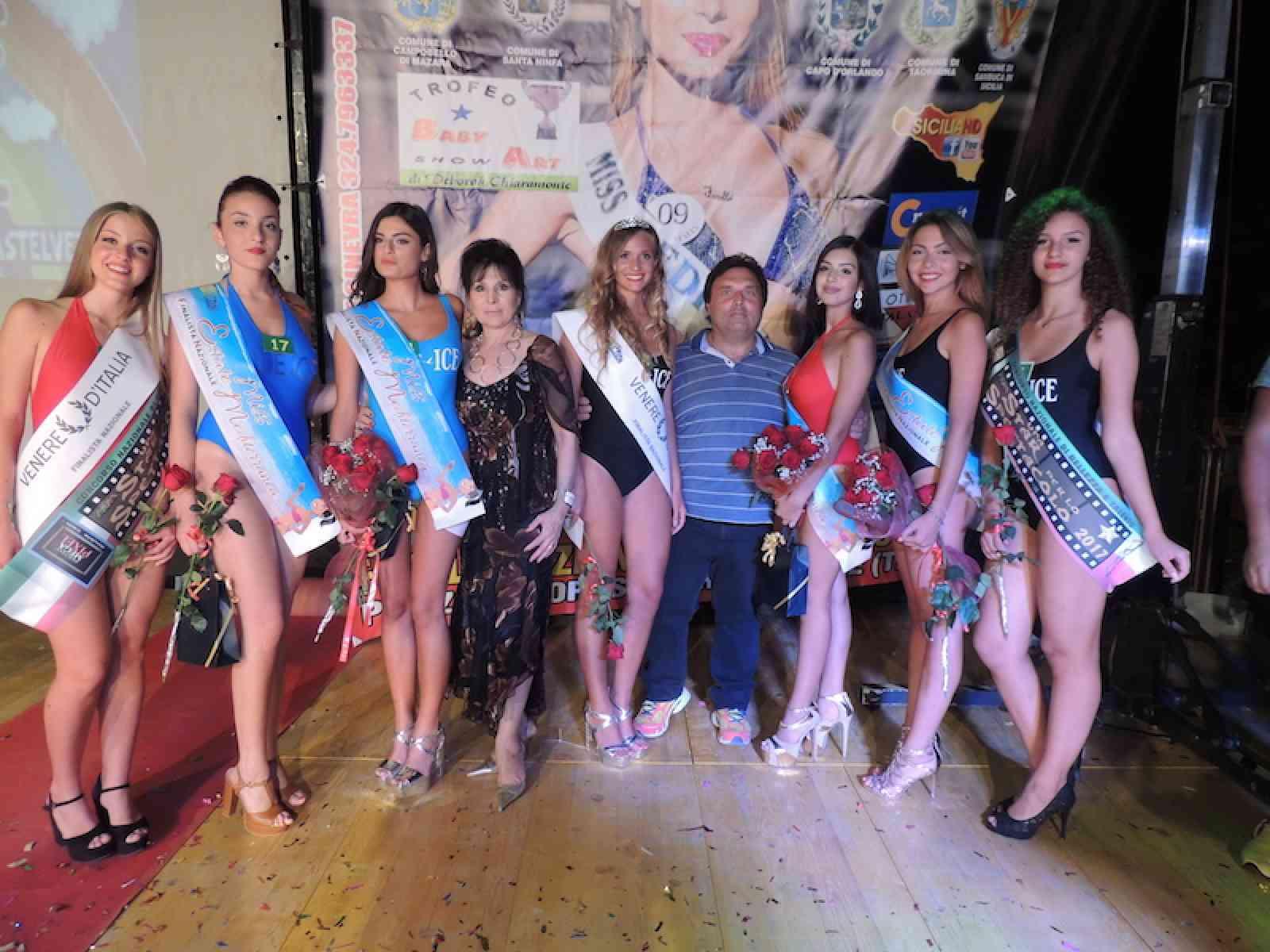 """La menfitana Verdiana Cicio vince la tappa provinciale del concorso nazionale """"Miss Venere d'Italia"""""""