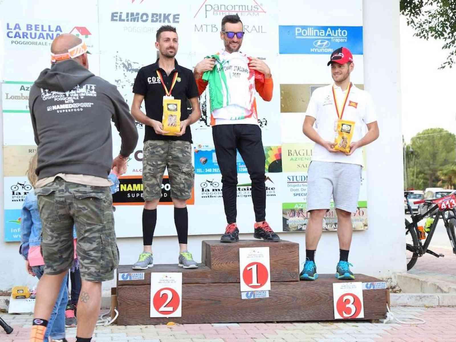 5a Gran Fondo di Mountain Bike della Valle del Belice. Vince il trapanese Piero Agosta