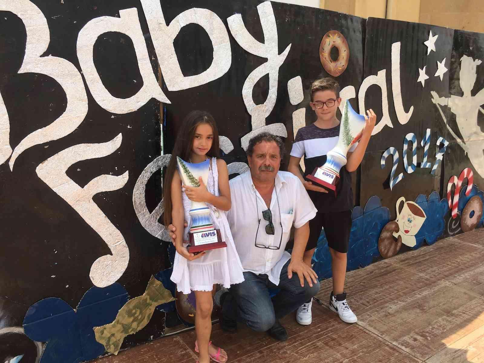 """Applausi per i bambini, protagonisti del """"Baby Festival 2017 - Città di  Salaparuta"""""""