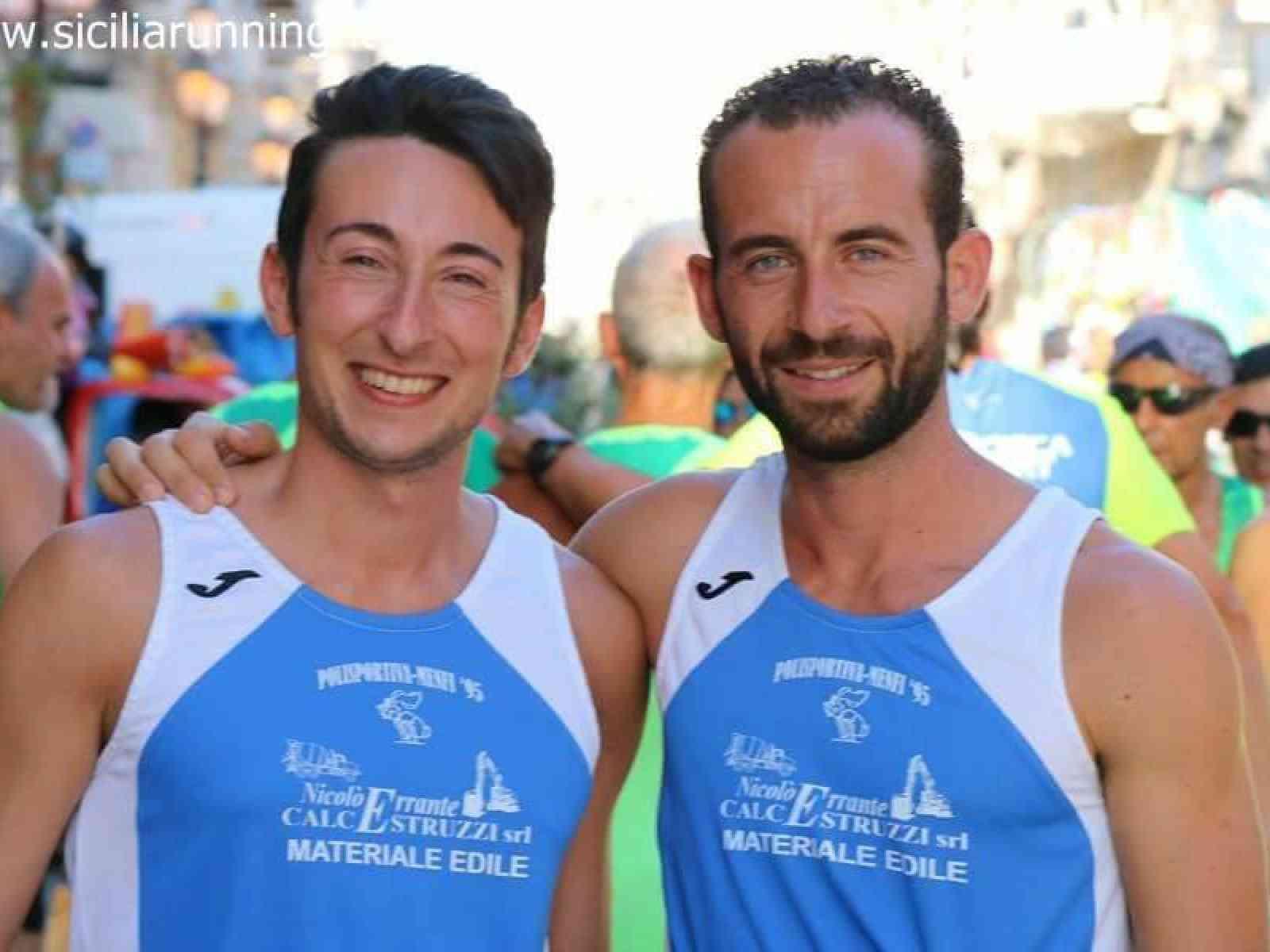 Atletica leggera, i menfitani Saverio Alagna e Davide Mirabile alla 42ª Maratona di Amsterdam
