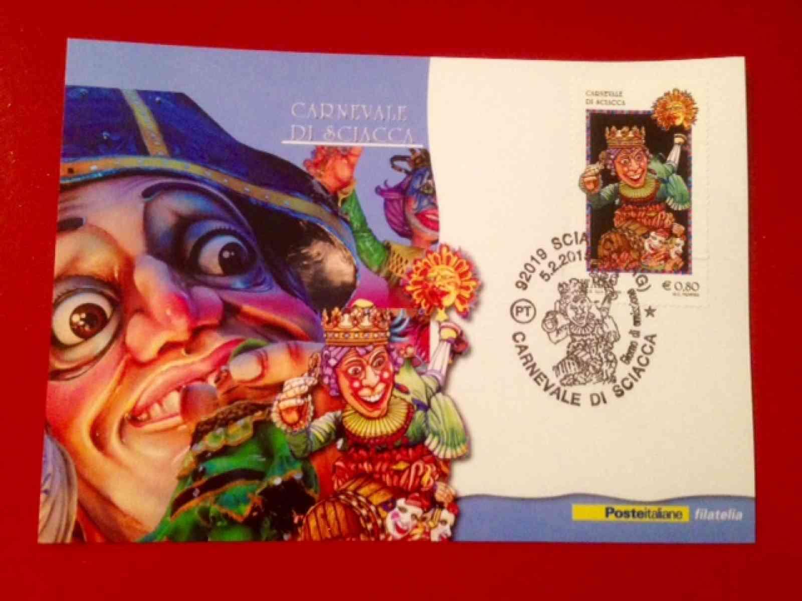 Carnevale 2015, 12 mila francobolli in distribuzione in città