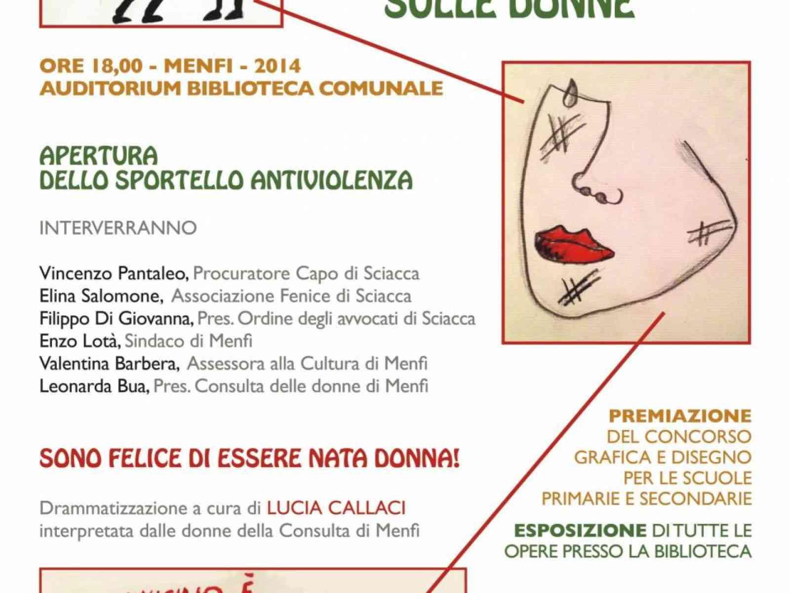Il 25 Menfi celebra la giornata internazionale contro la violenza sulle donne