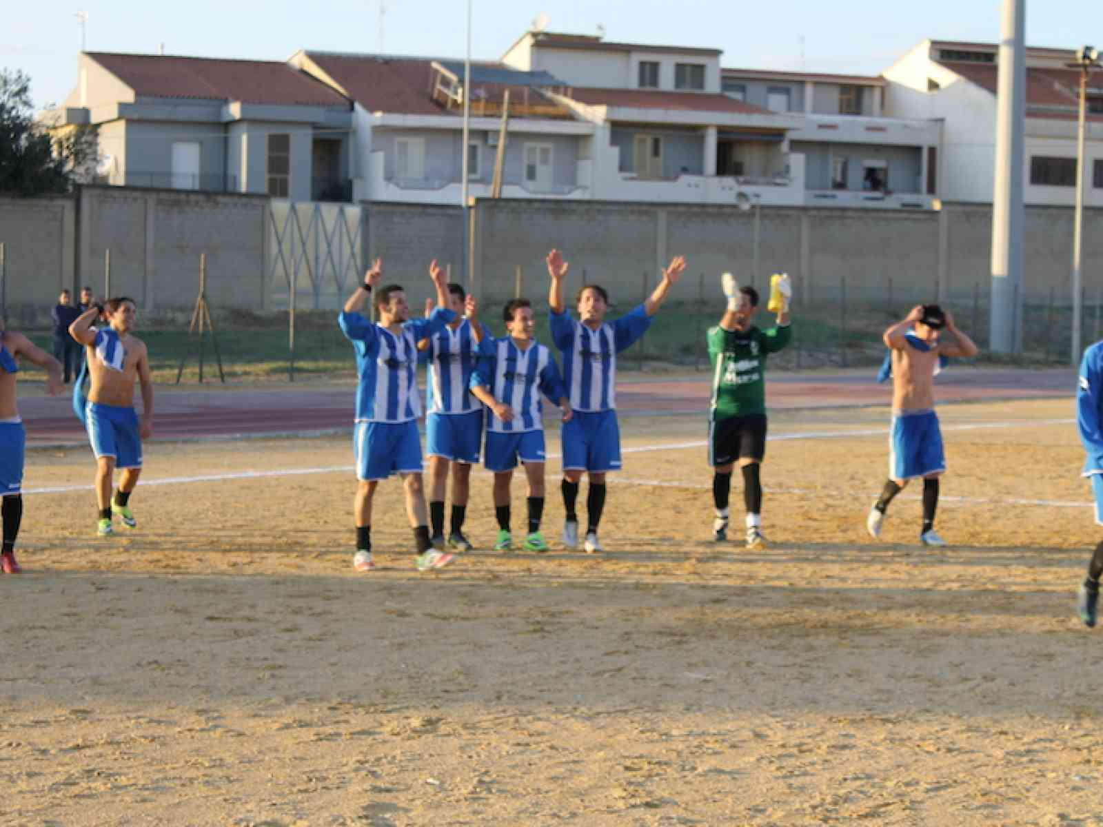 Calcio, il Menfi batte l'Ezio Roma e si laurea Campione d'inverno