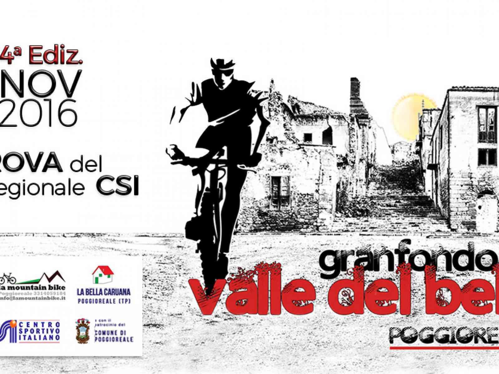 """Più di 400 biker attesi, domenica, per la """"Granfondo della Valle del Belice in MTB"""""""