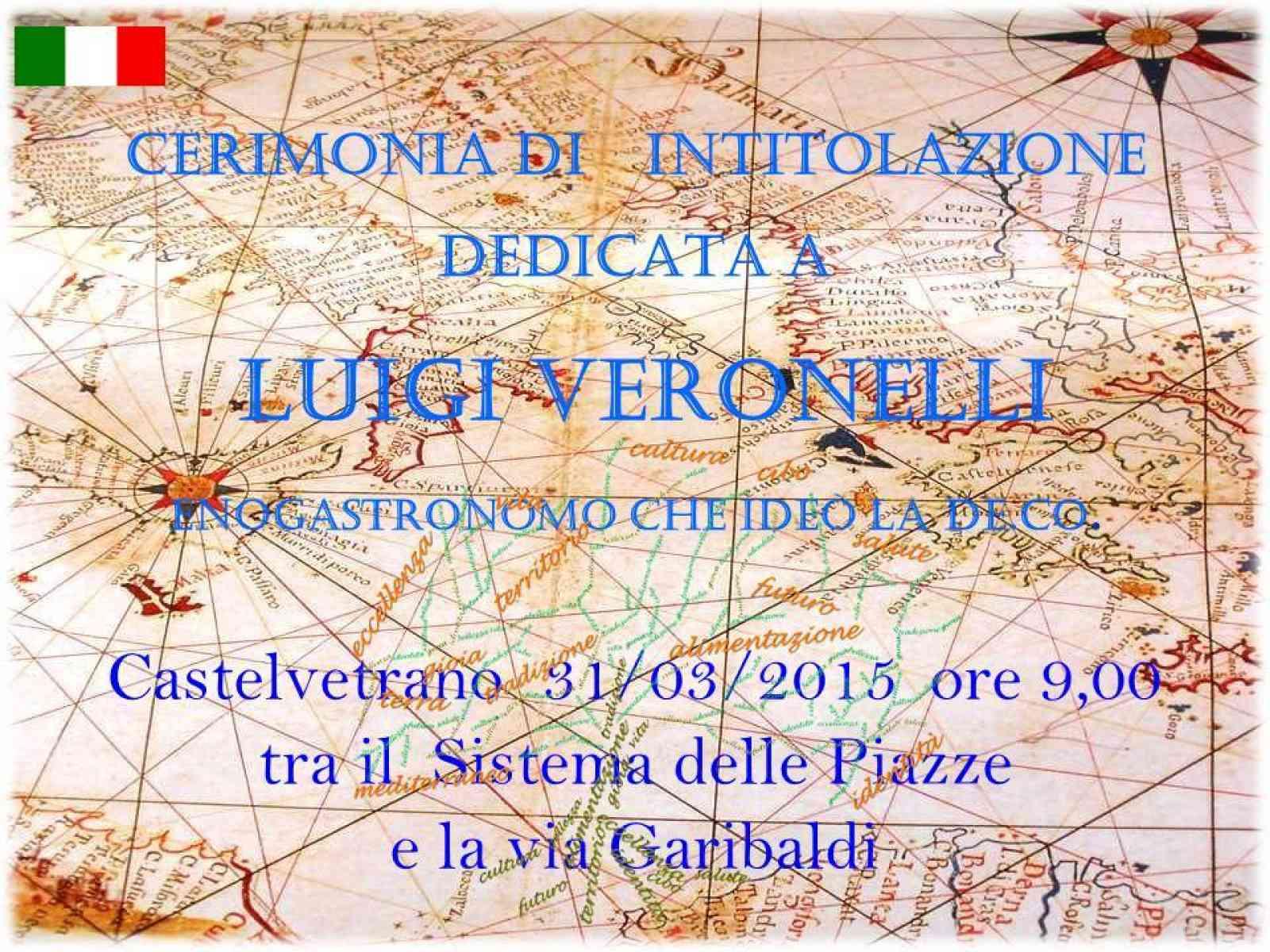 Castelvetrano, la prima città della Sicilia a dedicare uno spazio a Luigi Veronelli