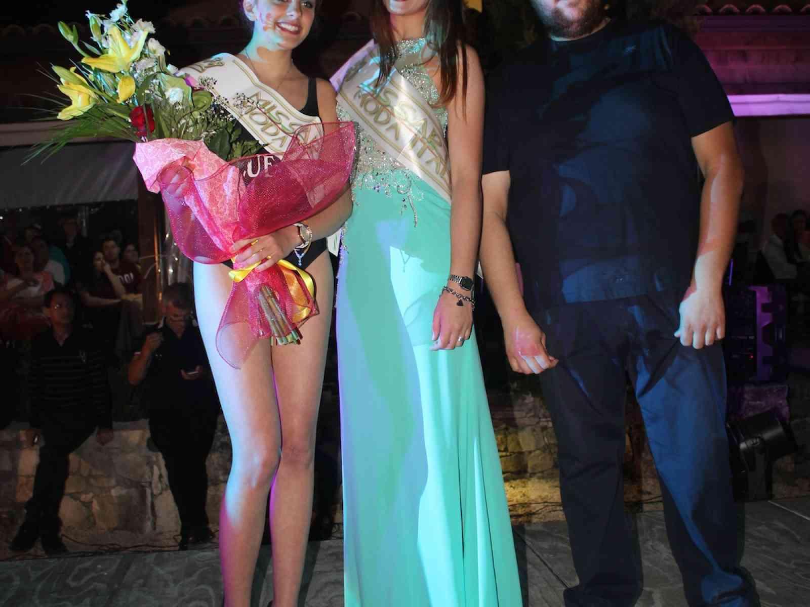 La saccense Alice Caracappa vince la prima selezione provinciale di Miss Arte Moda Italia