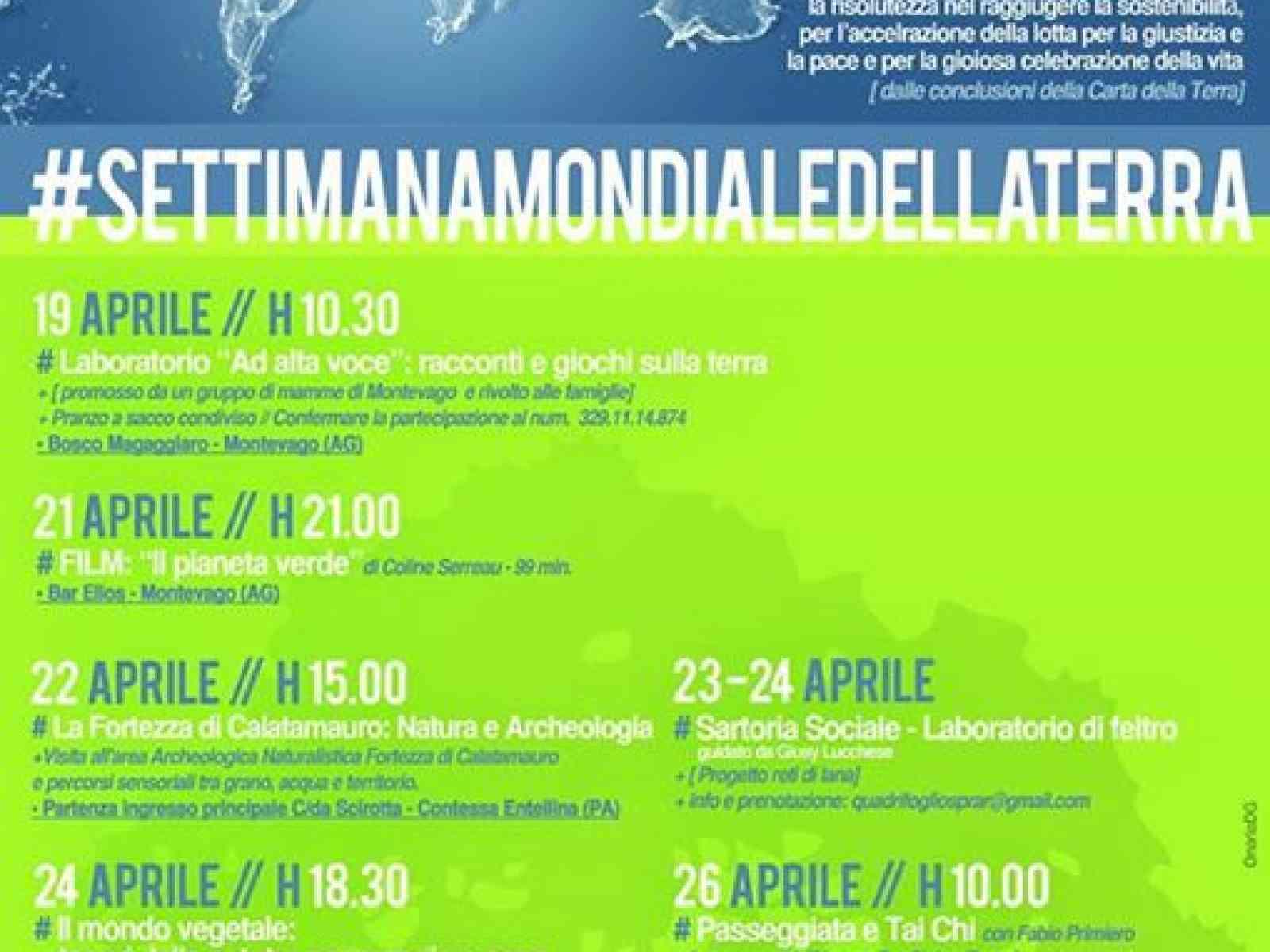 Santa Margherita. Numerose iniziative per la Settimana della Terra
