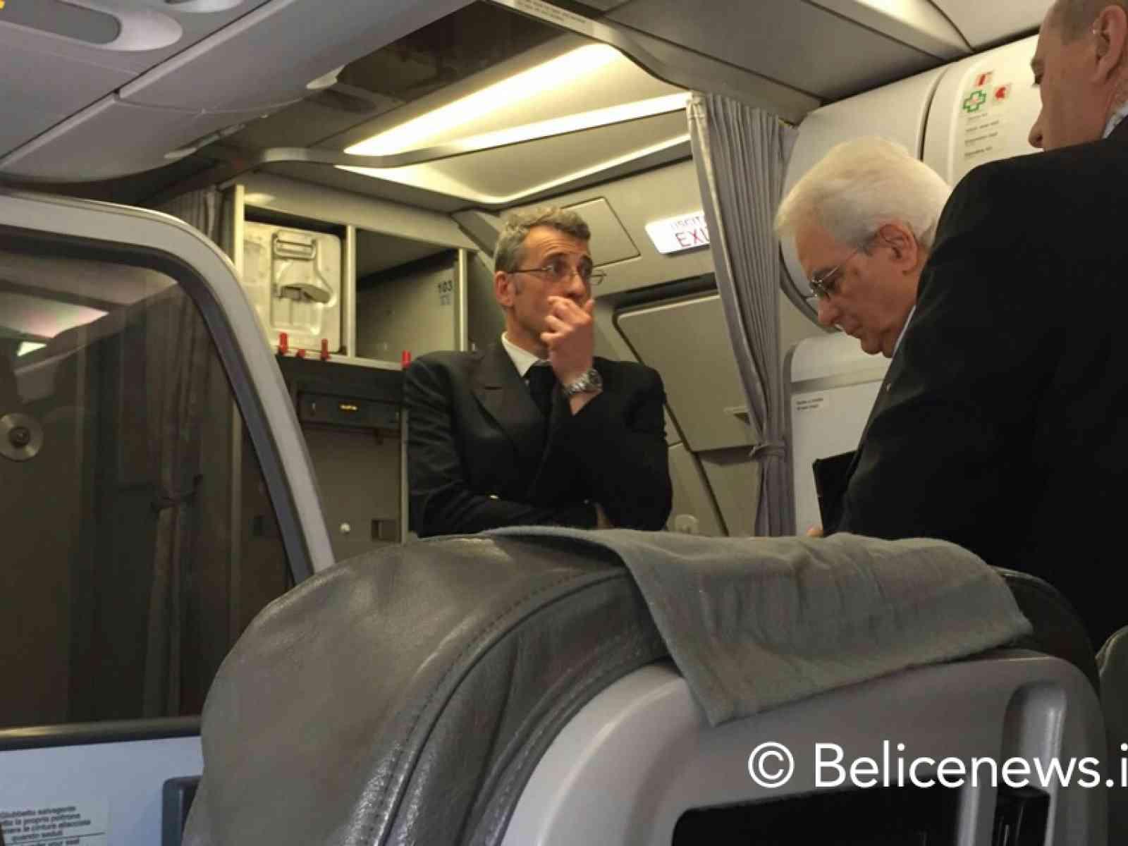 Il Presidente della Repubblica torna in Sicilia per Pasqua con un volo di linea
