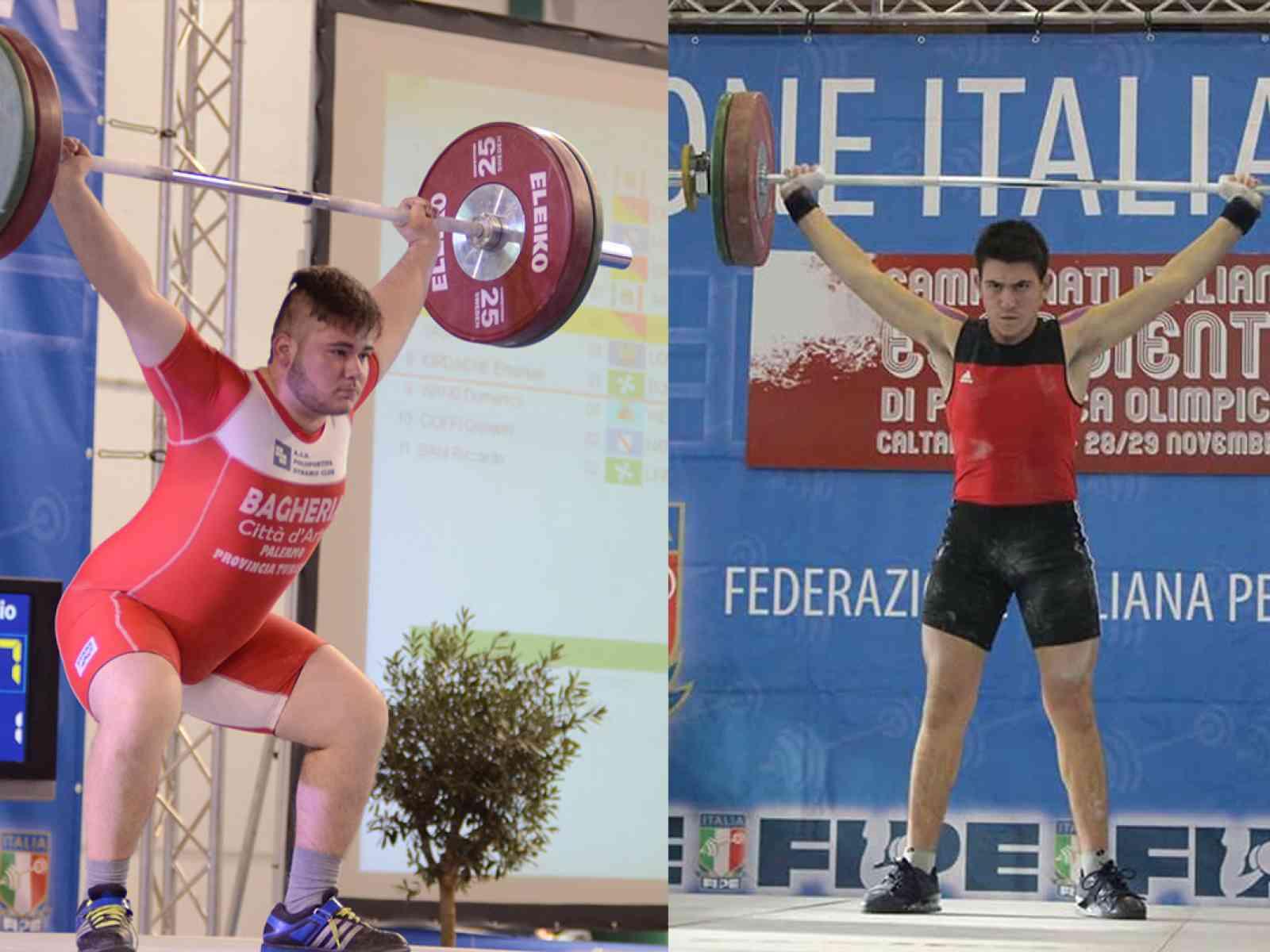 Salaparuta. Sollevamento pesi. Schifano e Pizzolato sono campioni italiani under 15