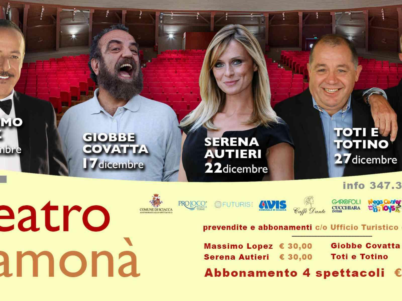 """Teatro e ceramica, al """"Samonà"""" di Sciacca spettacoli e mostre d'arte"""