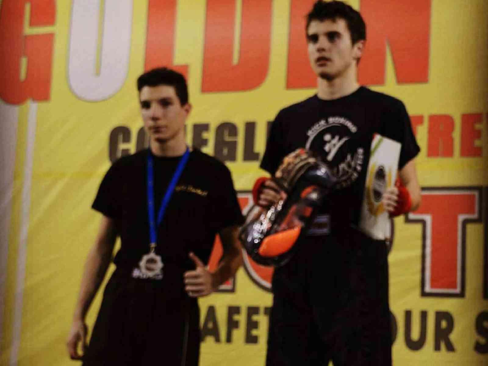 """Il menfitano, Salvatore Scirica, si piazza secondo al """"GOLDEN GLOVE"""" Eurocup Wako di Kickboxing"""