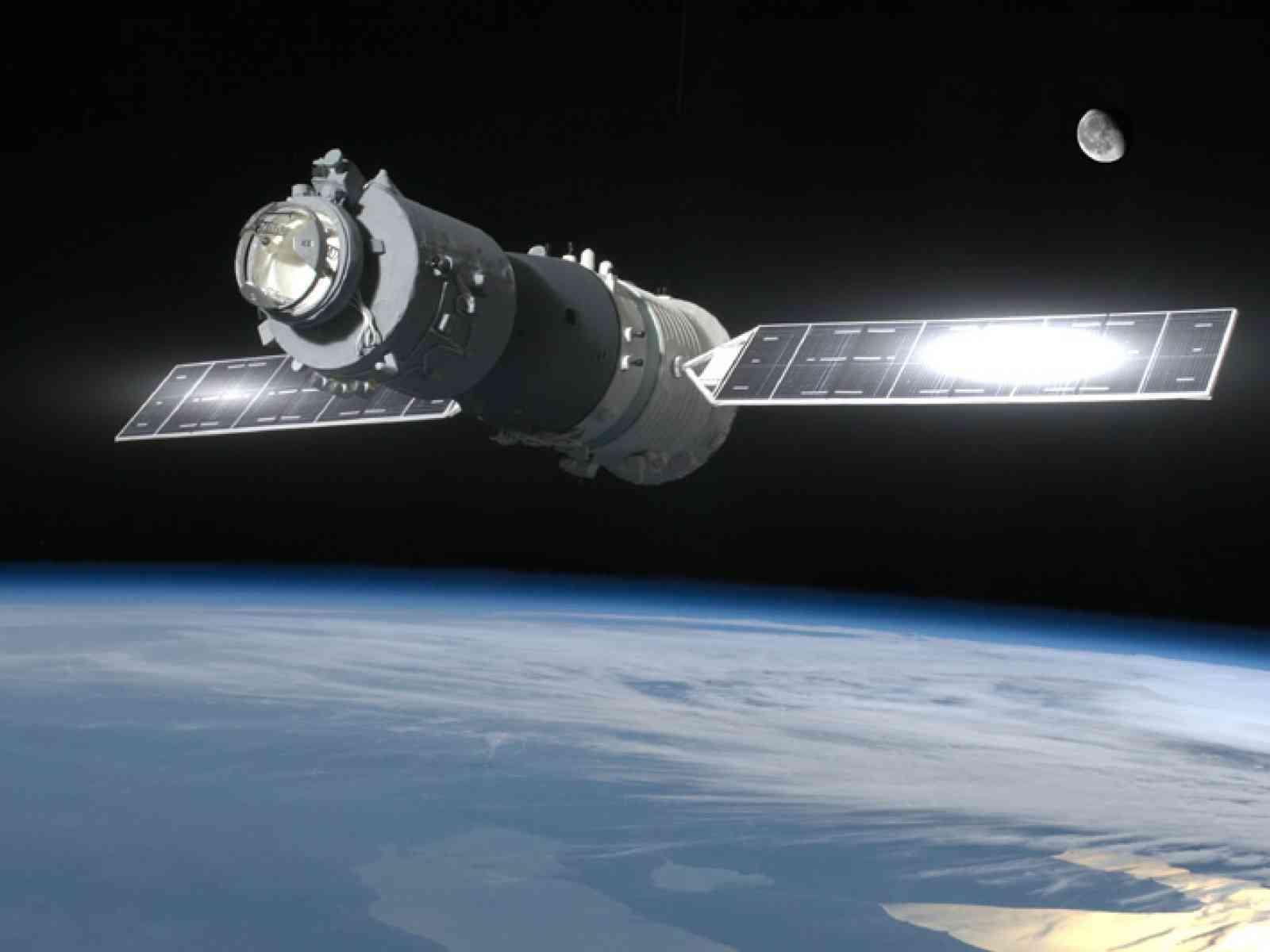 Stazione Tiangong-1, 1 giorno all'impatto. Anche la Sicilia a rischio
