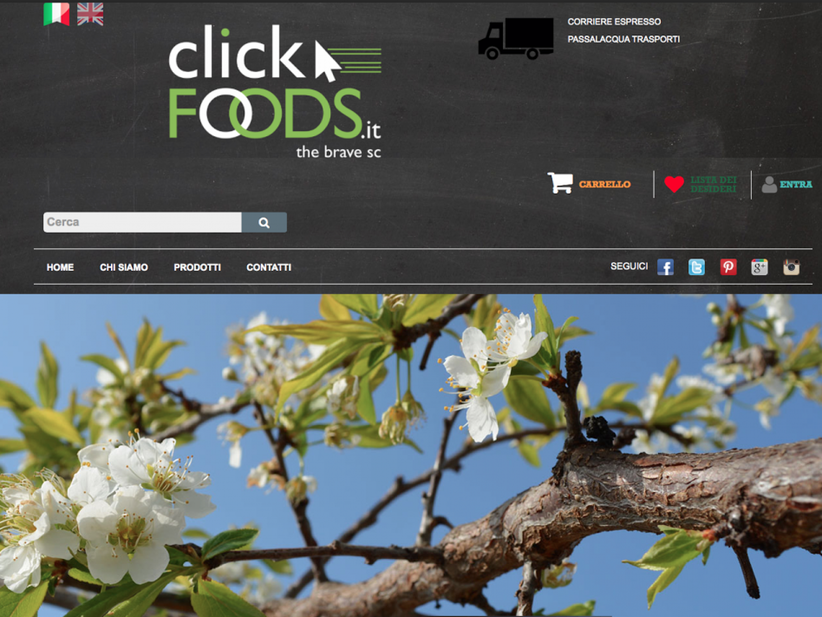 Meno di 24 ore al lancio di clickfoods.it, il portale di e-commerce dei prodotti enograstronomici belicini