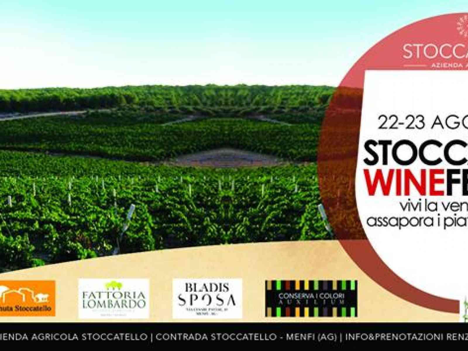 Menfi. Stoccatello Wine Festival, la prima edizione parte domenica 23