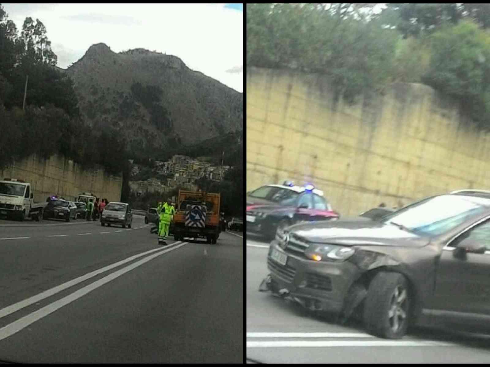 Incidente frontale sulla Fondovalle, Ss624 Palermo - Sciacca