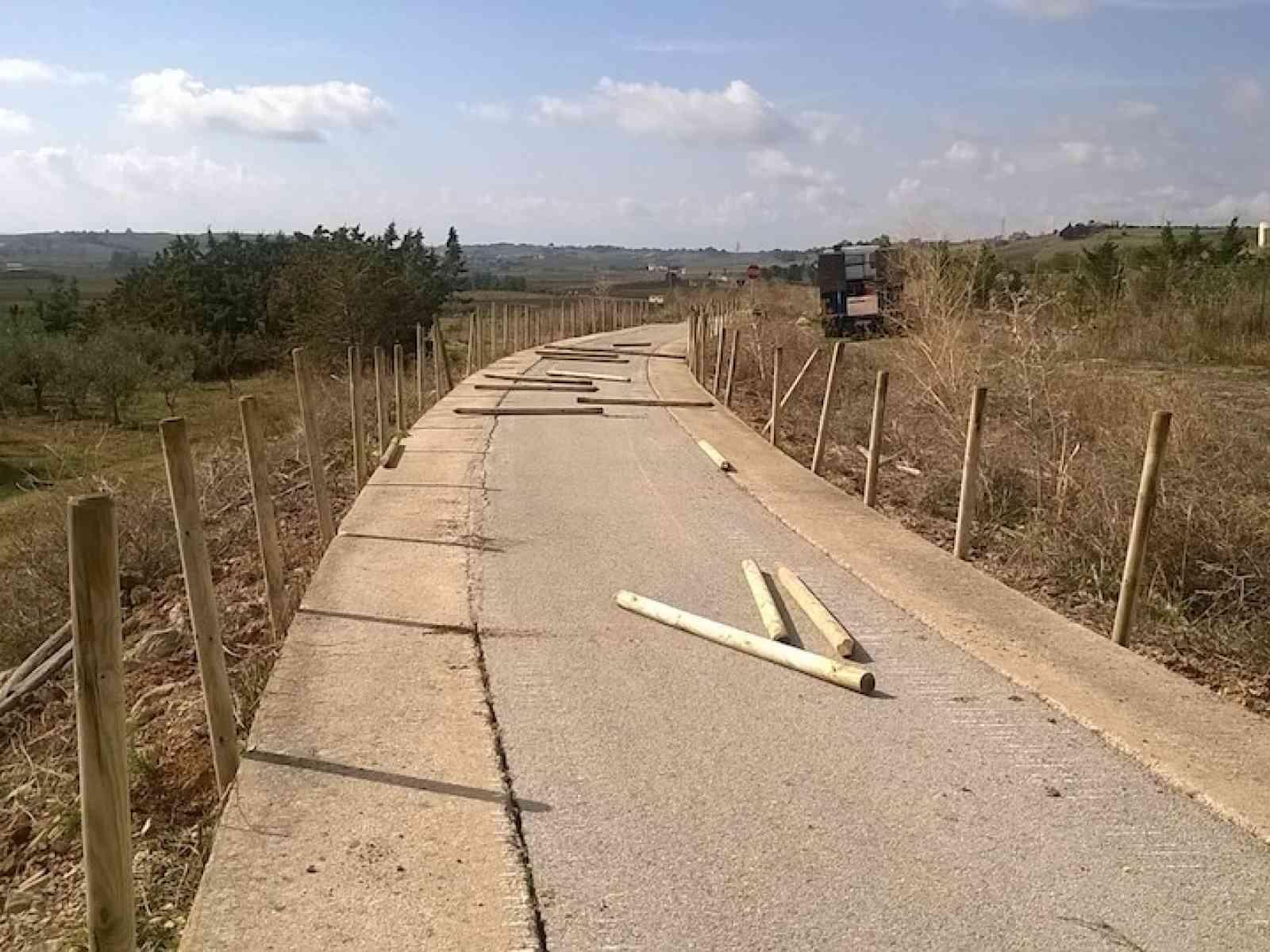 Menfi. Avviati i lavori di manutenzione della Pista ciclabile da Menfi a Porto Palo
