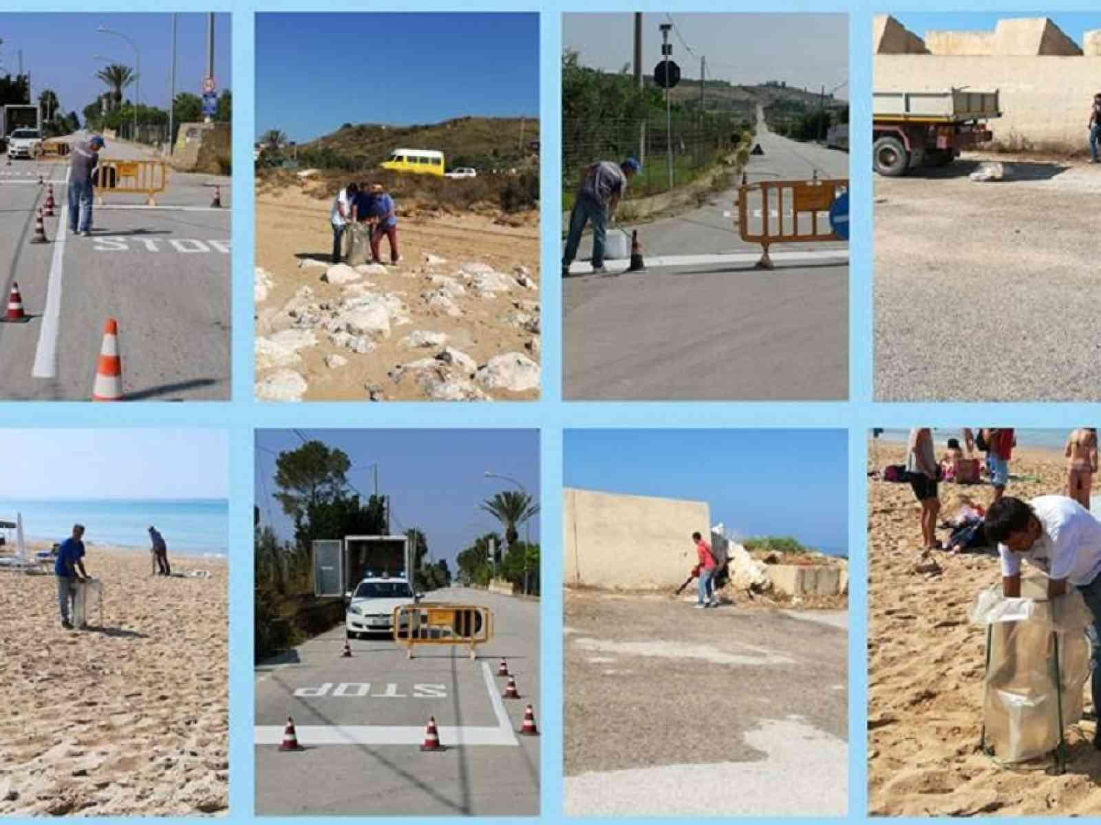 Immagine articolo: Menfi, squadre comunali al lavoro per ripulire città e località balneari