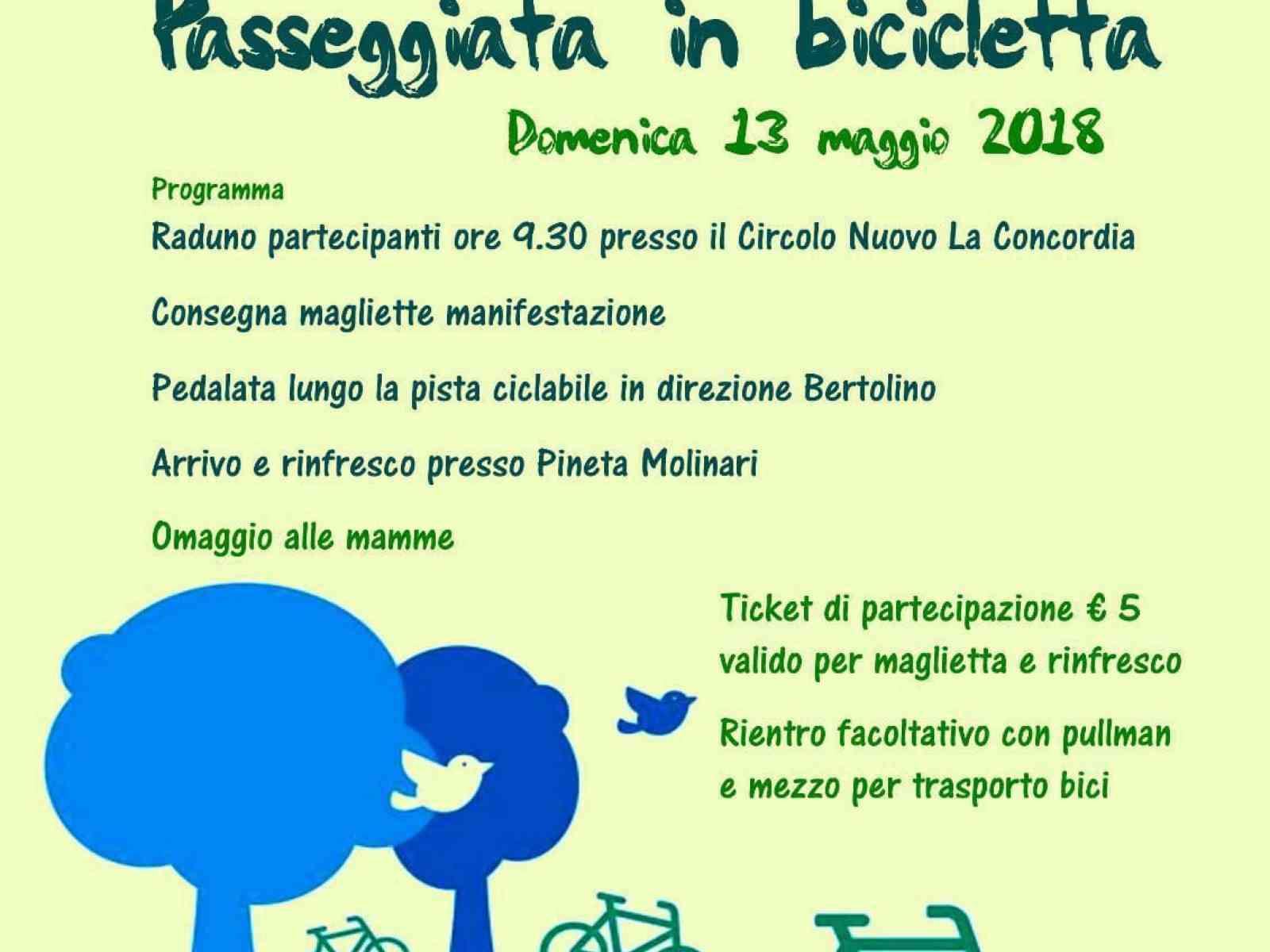 Immagine articolo: Menfi. In bici fino a Bertolino per la Giornata Nazionale della Bicicletta, domani alle 9e30