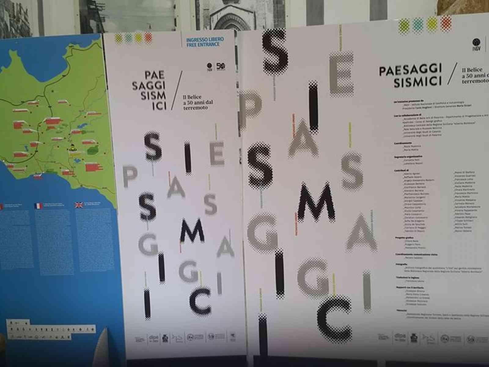 """Immagine articolo: La mostra """"Paesaggi Sismici. Il Belice a 50 anni dal terremoto"""" arriva a Santa Margherita di Belice"""