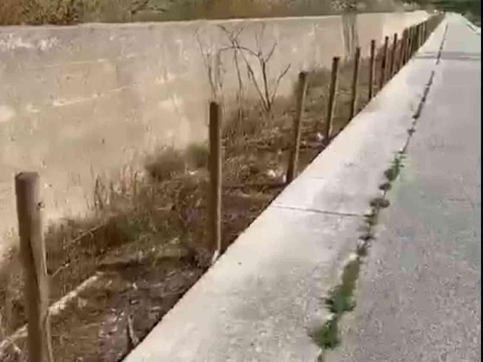 """Immagine articolo: Menfi, vandali in azione rubano cordicella della pista ciclabile. Condanna dell'Ass. Viviani: """"Gesto ignobile"""""""