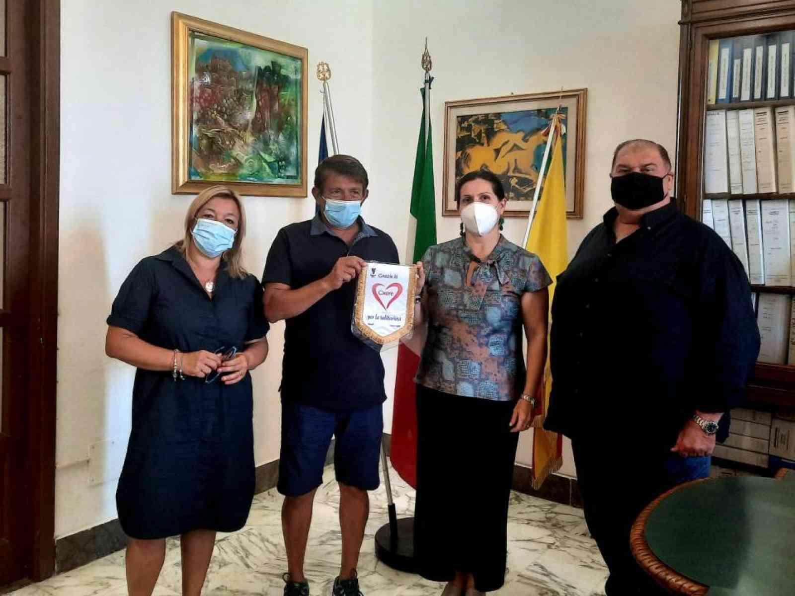 Immagine articolo: Encomio ufficiale al concittadino Calogero di Carlo.