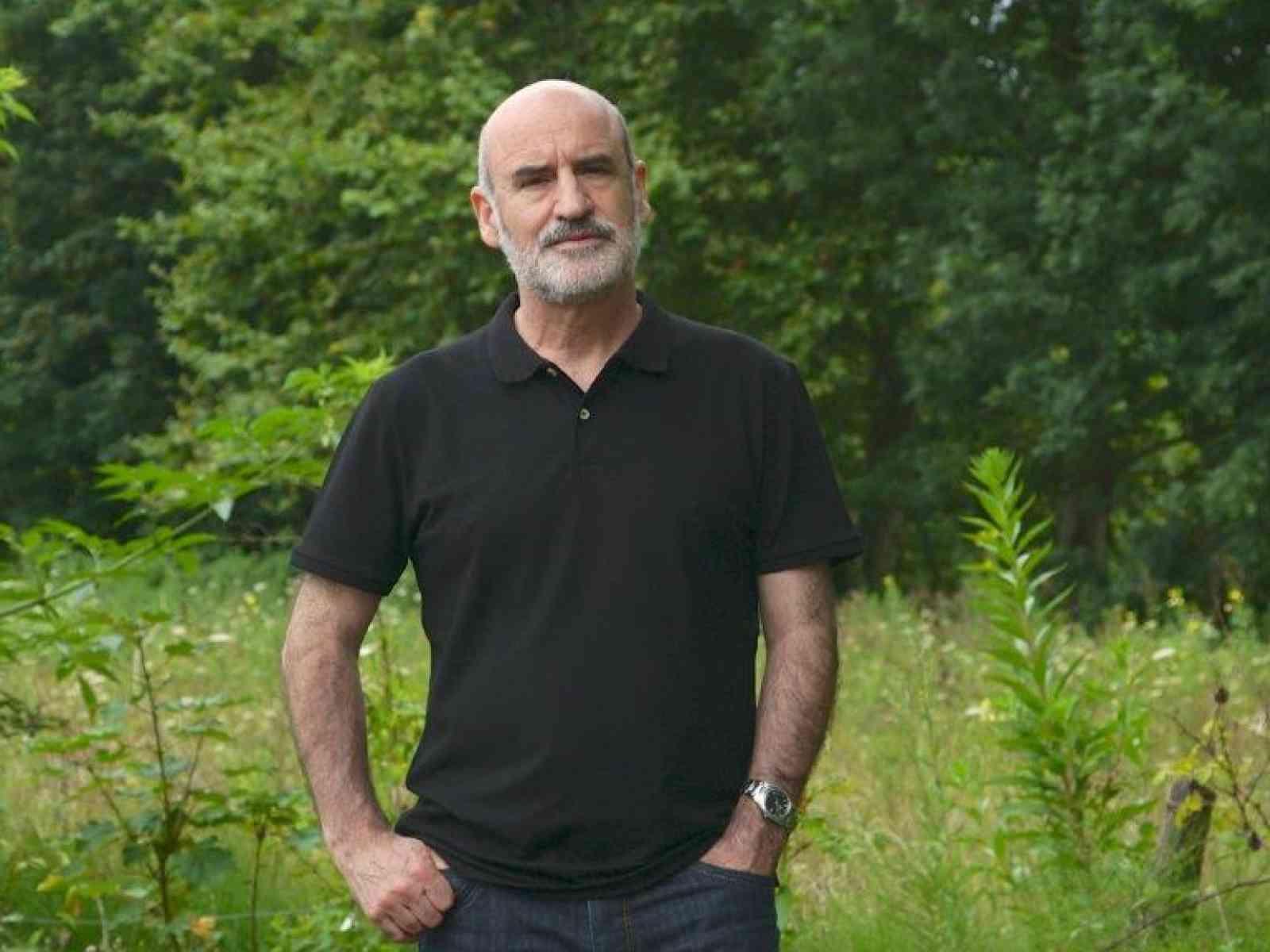 Fernando Aramburu in una foto di Rafel Durabn