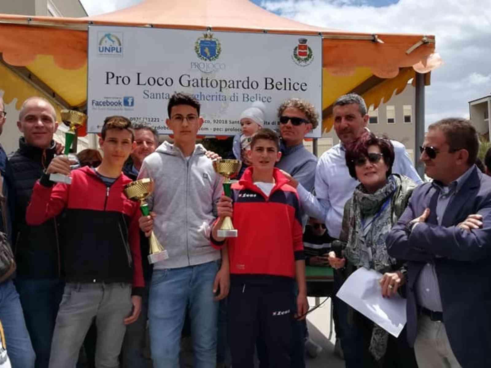 """Immagine articolo: Successo a Santa Margherita per la tradizionale """"Cursa di li carretti"""". Vince il giovane Gaspare Mangiaracina"""
