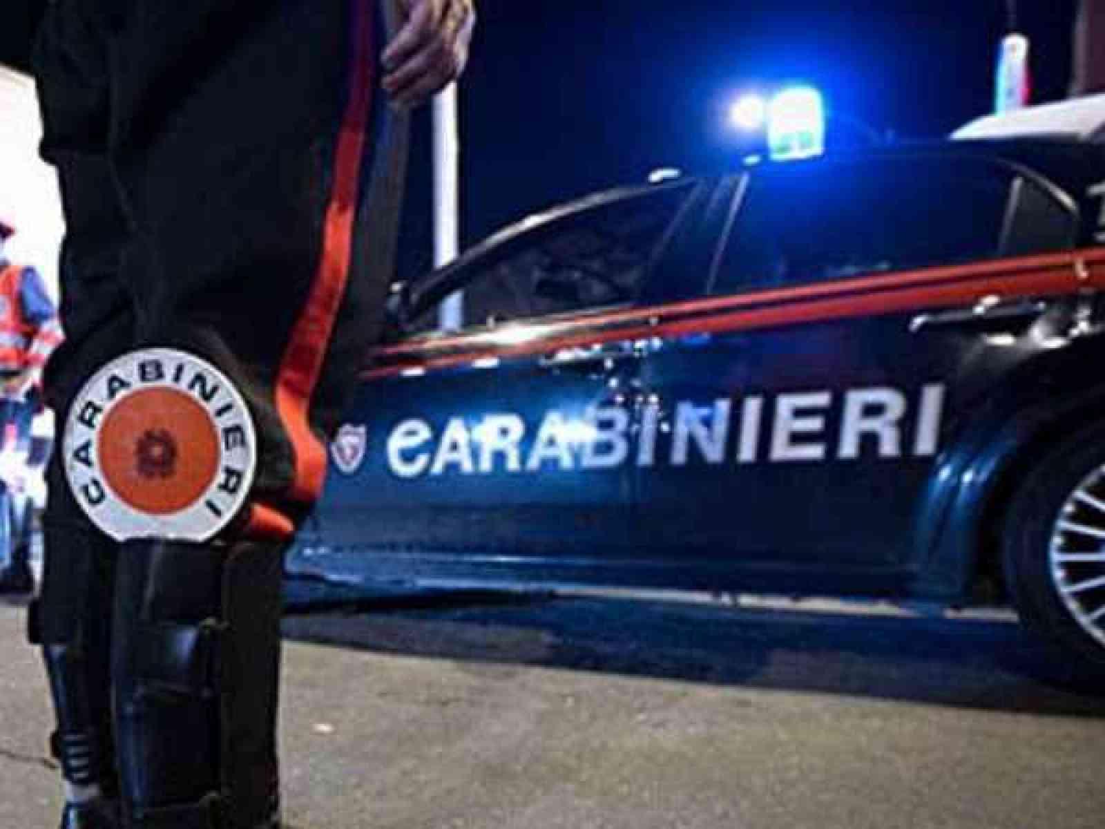 Immagine articolo: S. Margherita, in auto con una pistola calibro 9 semiautomatica. Denunciato impreditore agricolo