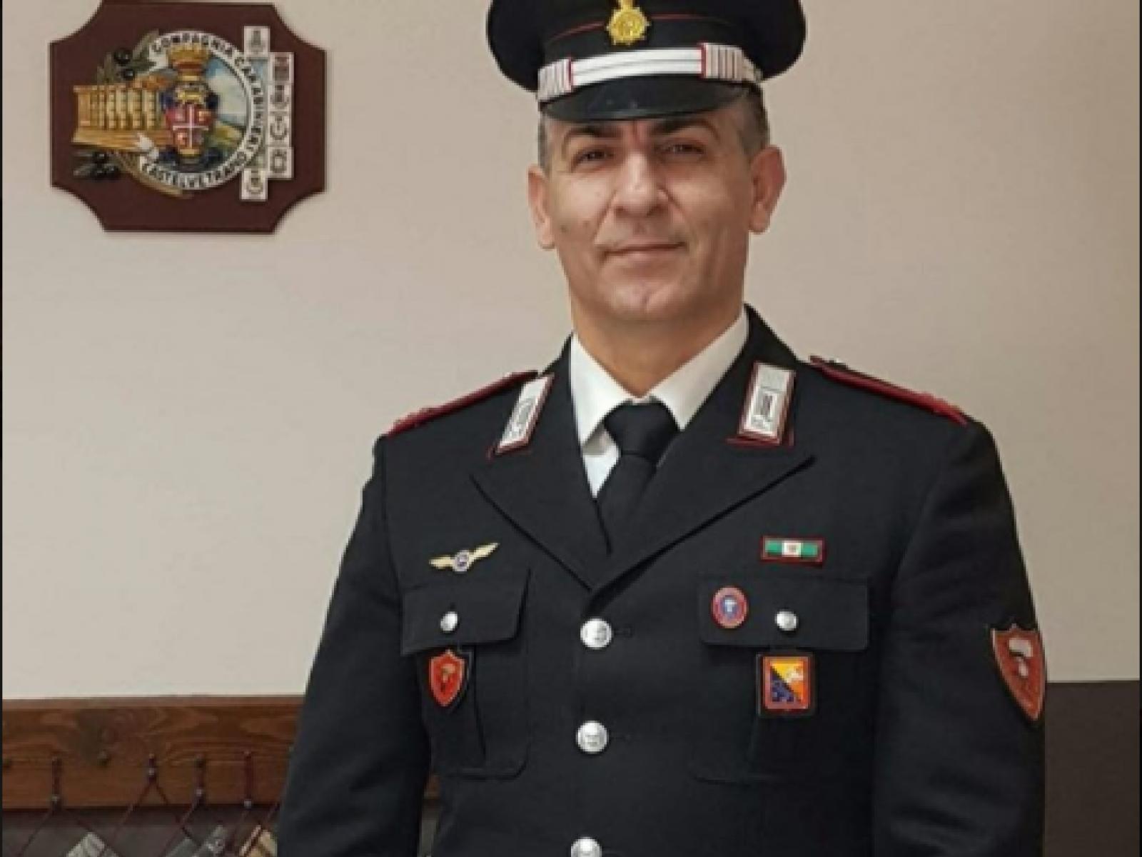 Immagine articolo: Promozione al grado di Luogotenente per il Maresciallo Maggiore dei Carabinieri Antonino Barbera, comandante della Sezione Radiomobile di Castelvetrano