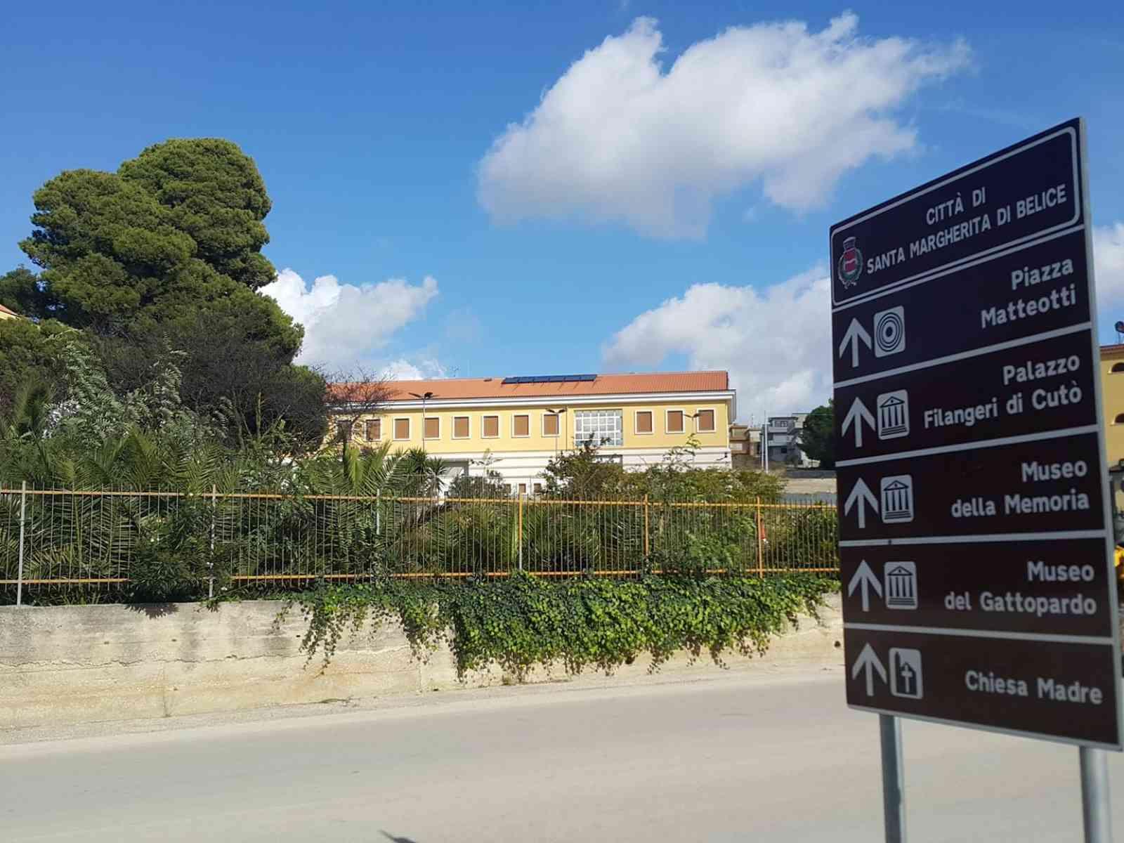 Immagine articolo: Santa Margherita Belice, in conclusione i lavori per la nuova sede del distaccamento dei Vigili del Fuoco