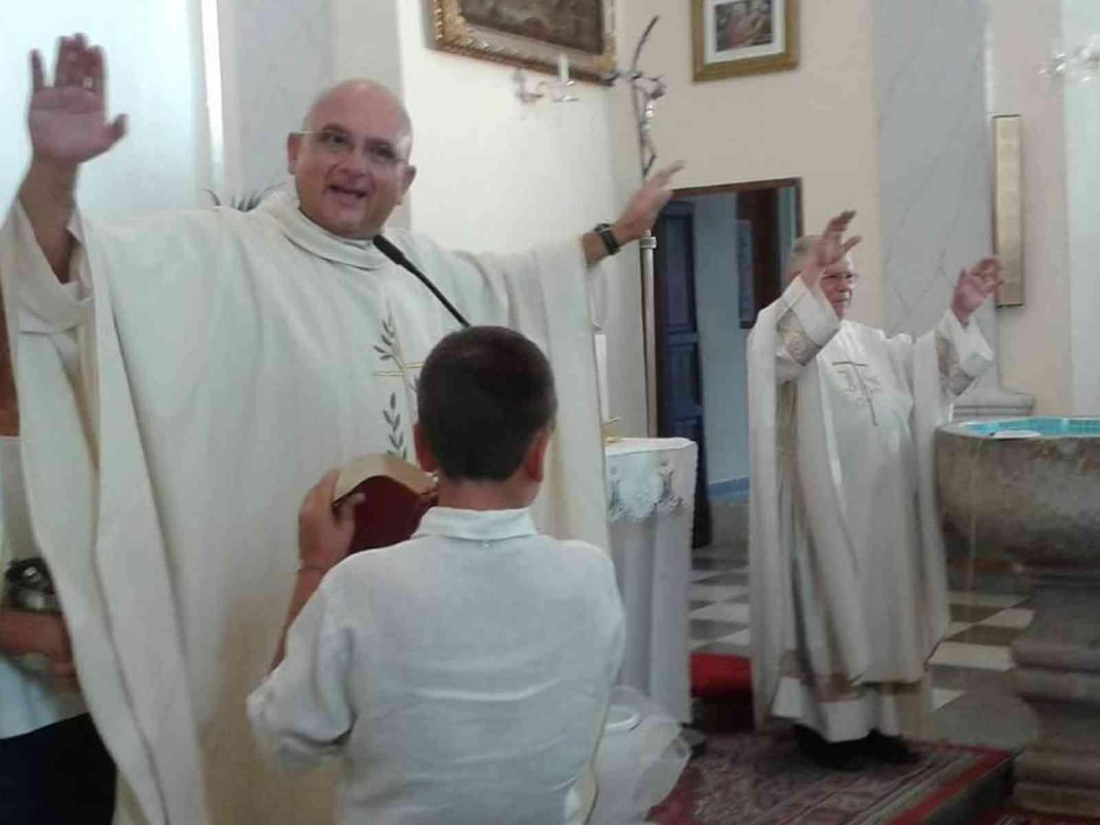Immagine articolo: 25 anni di ordinazione sacerdotale per don Salvatore Raso. Alla guida anche della Chiesa di Santa Margherita