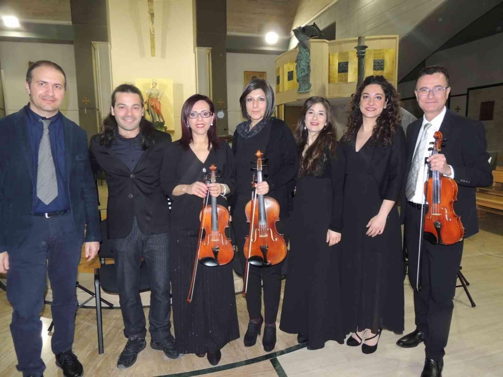 """Immagine articolo: Santa Ninfa, grande successo il concerto lirico """"Stabat Mater"""""""