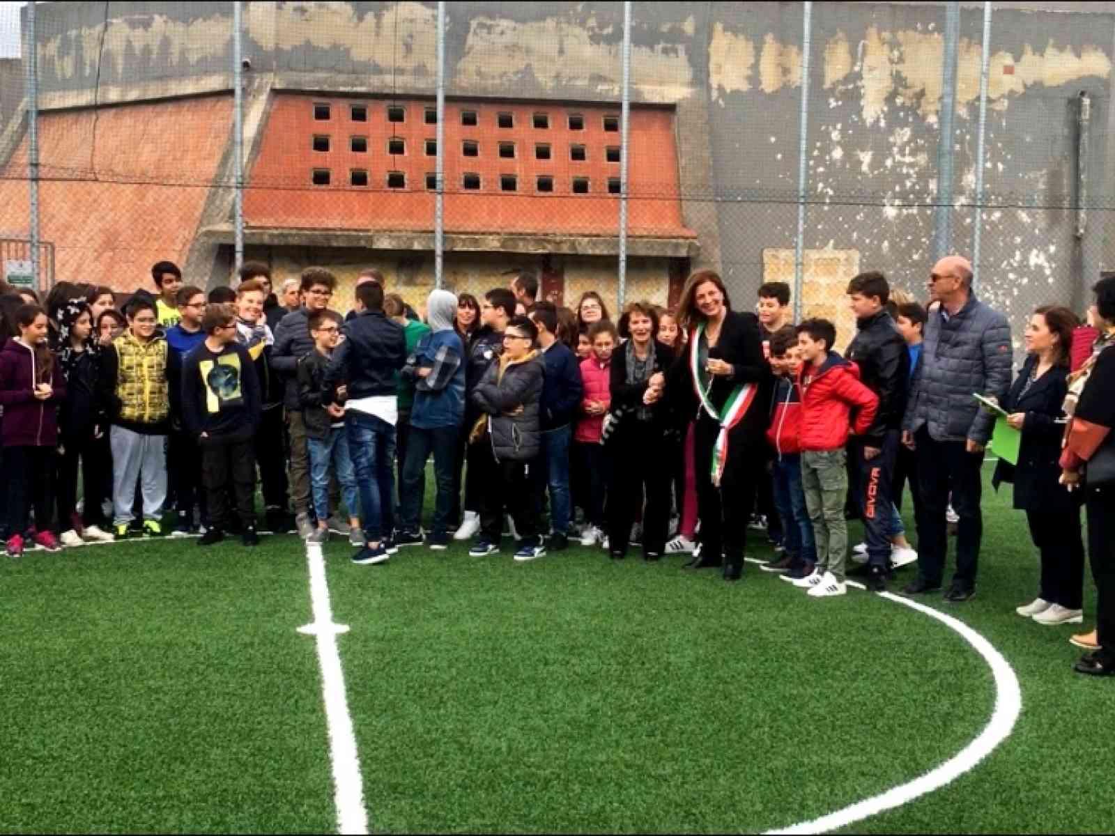 Immagine articolo: Montevago, inaugurato campo di calcetto dedicato alla memoria dell'architetto Salvatore Giganti