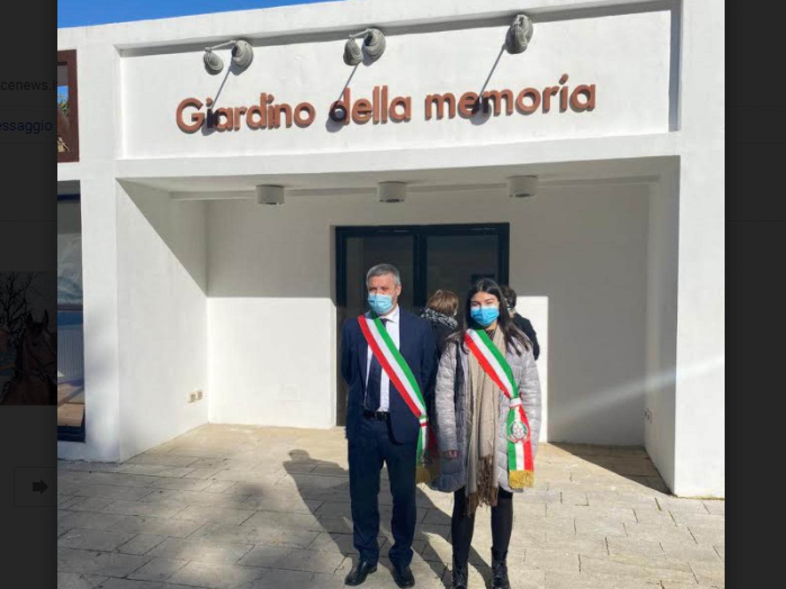 """Immagine articolo: Il Comune di Poggioreale ha partecipato alla manifestazione """"Venticinque anni senza Giuseppe Di Matteo"""""""