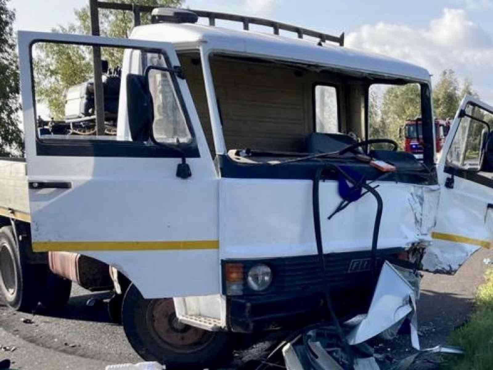 Immagine articolo: Incidente mortale tra Menfi e Castelvetrano. Scontro tra auto e camion