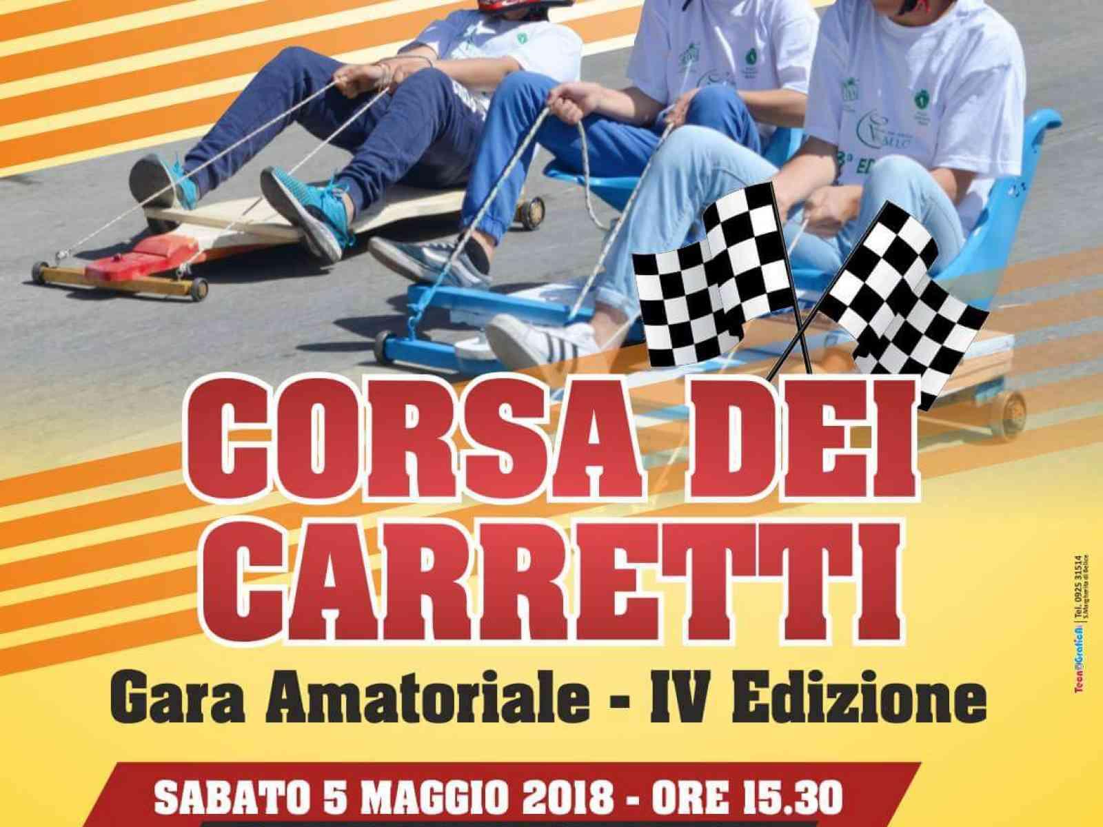 """Immagine articolo: Domenica 6 Maggio a Santa Margherita le corse """"dei carretti"""" . Ecco il regolamento e come iscriversi"""
