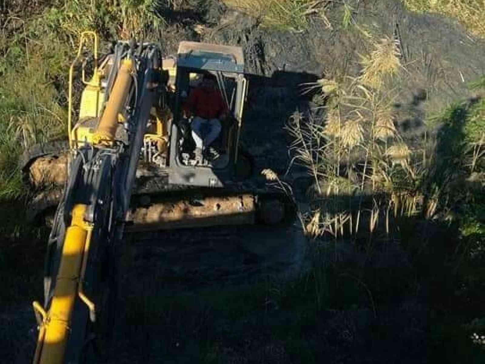 Immagine articolo: Menfi, al via i lavori di  pulizia e messa in sicurezza del vallone Mandrarossa  in contrada Fiori.