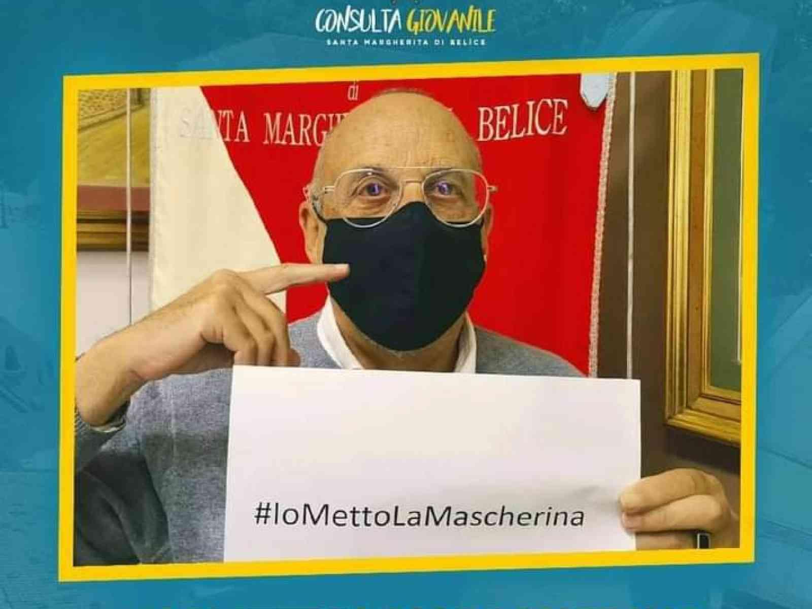 Immagine articolo: Santa Margherita, riscuote successo la campagna di sensibilizzazione promossa dalla Consulta Giovanile #Iomettolamascherina
